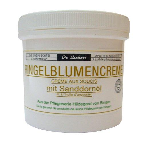 4 Dosen / Tiegel Ringelblumencreme mit Sanddornöl von Dr. Sachers