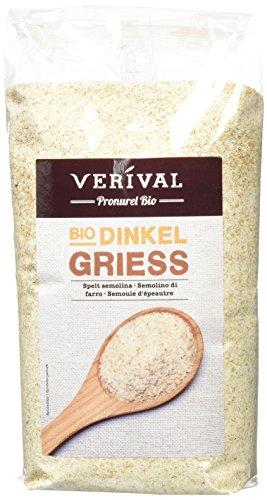 Verival Dinkelgrieß - Bio, 6er Pack (6x 500 g Beutel) - Bio