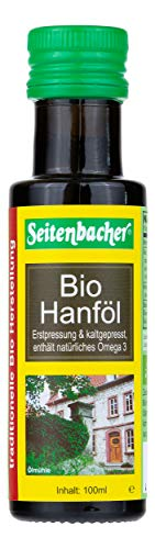 Seitenbacher Bio Hanf Öl rein nativ, kaltgepresst/1. Pressung, 1er Pack (1 x 100 ml)