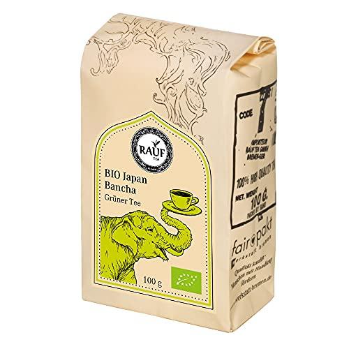 Rauf Tee grüner Tee-BIO Japan Bancha -2x100g