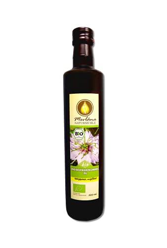 Mevlana Naturmühle ägyptisches BIO - Schwarzkümmelöl, ungefiltert, 1er Pack (1 x 500 ml)