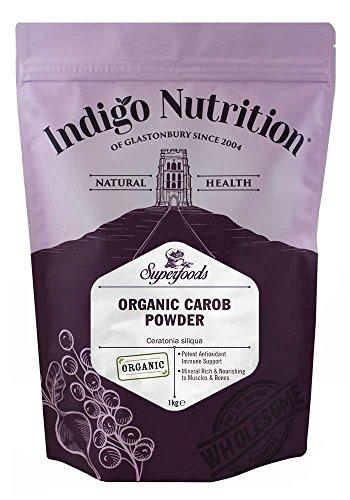 Indigo Herbs Bio Johannisbrotbaum Pulver/Carobpulver 1kg