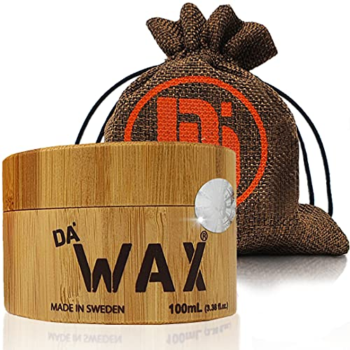 Da\'Dude Da\'Wax Extrem Stark Haar wachs Matt Finish - Bestes professionelles styling Haarwachs - langanhaltend in einer hochwertigen hölzernen Dose mit Geschenkbox - Perfektes Geschenk