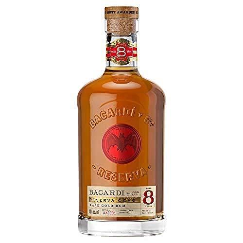 Bacardi Ron 8 Anos Reserva Superior Rum (1 x 0.7 l)
