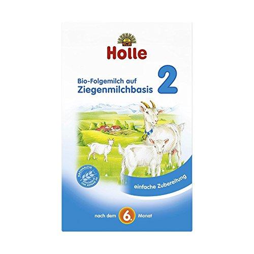 Holle Bio Folgemilch auf Ziegenmilchbasis 2 (4 x 400 gr)