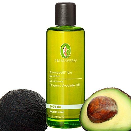 Primavera Bio Öle / Körperöl / Massageöl mit 100 {5c27ae4312b743efd6d167e13543f2503879a173d44d43b8108dfe6128596283} naturreinen ätherischen Ölen, Duft:Avocadoöl Bio