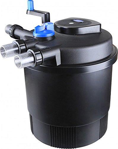 CPF 20000 Bio Druckteichfilter 40.000l Teichfilter Bachlauf incl.36 Watt UVC Klärer - Selbstreinigend