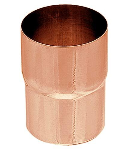 Ablaufrohrverbinder Kupfer in den Größen 60, 76, 80, 87 und 100 mm (100 mm)