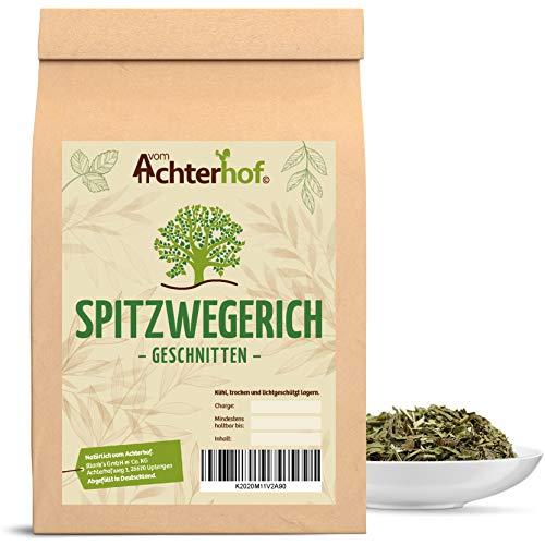 250 g Spitzwegerichblätter geschnitten Juglandis Fol. conc. Spitzwegerich-Tee natürlich vom-Achterhof