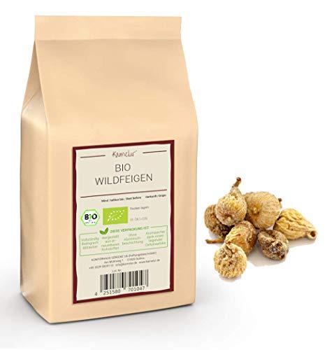 1kg getrocknete Bio Feigen ohne Zusätze aus Spanien - NEUE ERNTE - naturbelassene Feigen in Bio Qualität als leckerer Energielieferant