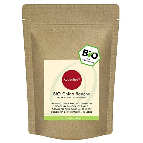 Quertee Grüner Tee - Bio - China Bancha, 1er Pack (1 x 250 g)