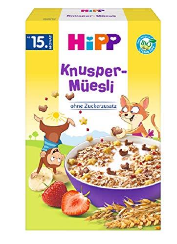 HiPP Knusper Müesli, 6er Pack (6 x 200 g)