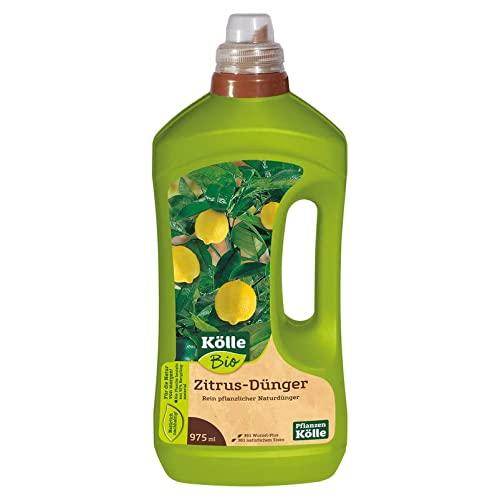Kölle\'s Bio Zitrus-Dünger 1 l, Flüssigdünger für Zitruspflanzen in Bio-Qualität, Düngemittel, Düngung