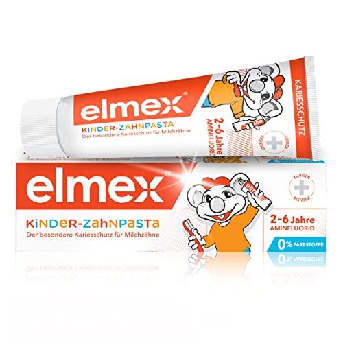 Elmex Kinder-Zahnpasta (als Gel), 0-6 Jahre, 50 ml