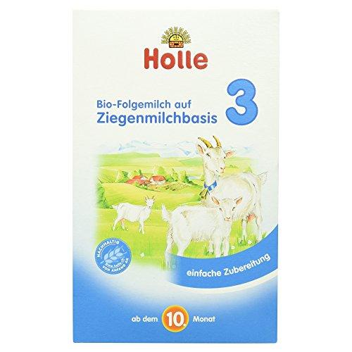 Holle Bio-Folgemilch 3 auf Ziegenmilchbasis, 1er Pack (1 x 400 g)