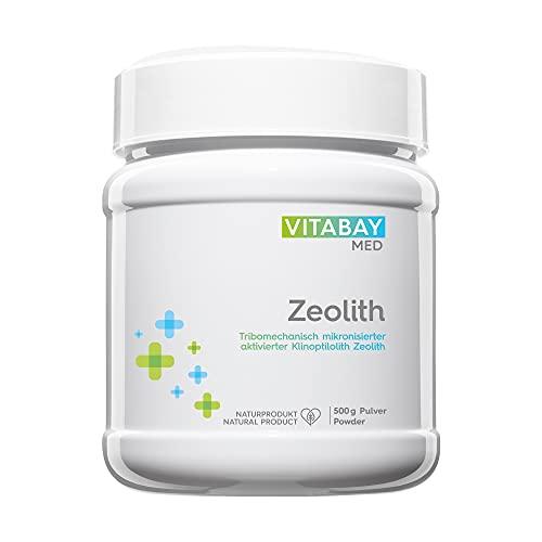 Zeolith Detox Pulver - Medizinprodukt zur Entgiftung 95{e19f4d2fc2a4005a6eaa149fe2179dd060c4cbbf59a03a3298b176779a21c78f} Klinoptilolith 500 g