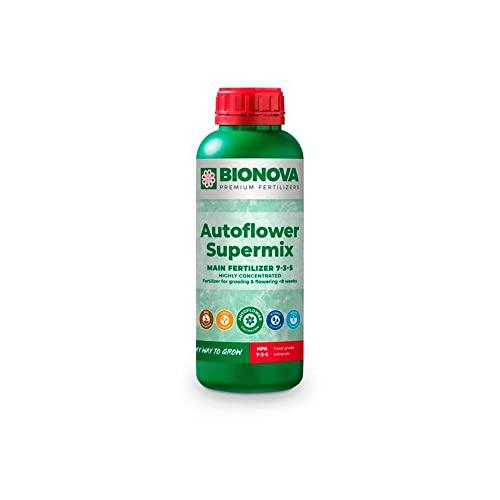 Spezialdünger f. kurzblühende Pflanzen Bio Nova AutoFlowering SuperMix (1L)
