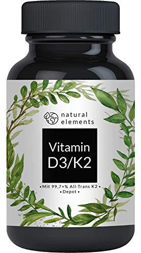 Vitamin K2 MK7 200µg - 365 Kapseln - Premium: 99,7+{64c1d7b54aeb362de34a255b06bfba16de16f84dc52544cc8ddcc3a999544288} All-Trans (K2VITAL® Delta von Kappa) – Mikroverkapselt, hochdosiert, vegan, hergestellt in Deutschland