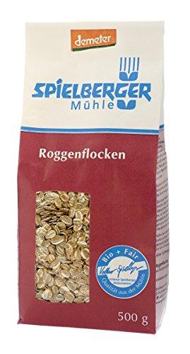 Spielberger Demeter Bio Roggenflocken 500g