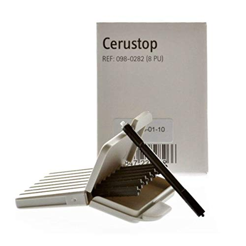 Cerustop Wachsschutz, 10 Packungen mit je 8 Stück (80 Stück)