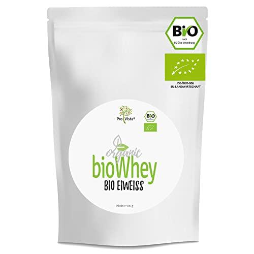 ProVista Bio Whey Protein - organic - Molkeneiweiss - Honig-Vanille (2 x Honig-Vanille) aus Schweizer Alpenmilch