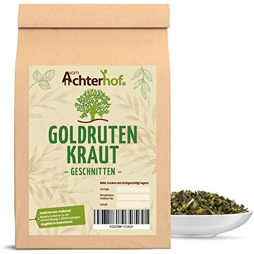 Goldrutenkraut geschnitten getrocknet 250 g Goldrutentee - Goldrutenkraut-Tee Goldrute vom-Achterhof