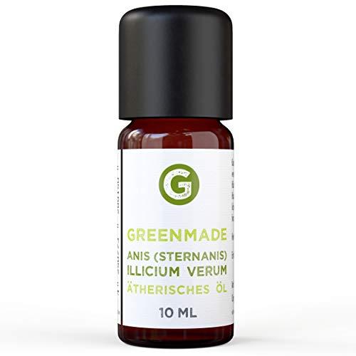Anis (Sternanis) Öl 10ml - 100{24cba5dbed6b3e159ca784e57160e42551a11991945da628002fed68257d879e} naturreines, ätherisches Anis Öl von greenmade