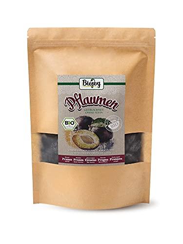 BIO getrocknete Pflaumen | ganze Früchte - entsteint, ungeschwefelt & ungezuckert | 100 {baf6821e563384344c44b64b45f855d77377eb0cec324cbbce88f9e5147122d9} Natur | frischeversiegelt für vollen Geschmack | Prunus domestica (1 kg)