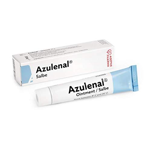 Azulenal® Wund und Heilsalbe - Natürlich Entzündungshemmende Salbe für Juckreiz Intimbereich After Brustwarzen Stillen Ekzem Wundsalbe Baby Creme