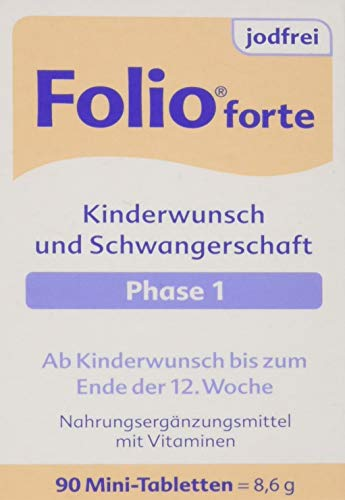 Folio 1 forte jodfrei Filmtabletten 90 stk