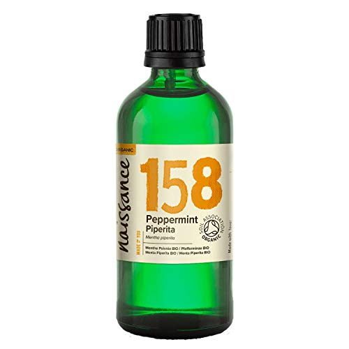 Naissance Pfefferminzöl 100ml BIO zertifiziert 100{3493cdfbc5a8e17afe5ab72519ac556a80af424d1cbe1a32f3c01e8bbe4a952a} naturreines ätherisches Öl