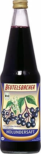 Beutelsbacher Bio Holundersaft aus biologischem Anbau (1 x 700 ml)