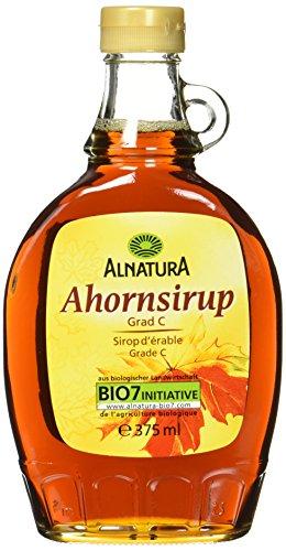 Alnatura Bio Ahornsirup, Grad C, vegan, 1er Pack (1 x 375 ml)