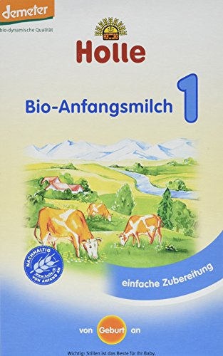 Holle Bio-Anfangsmilch 1, 1er Pack (1 x 400 g)
