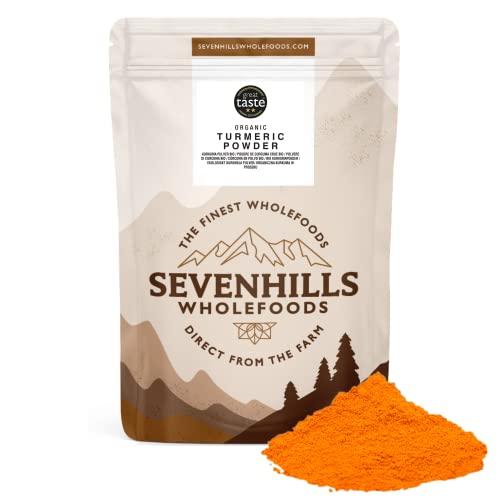 Sevenhills Wholefoods Roher Kurkuma Pulver Bio 250g