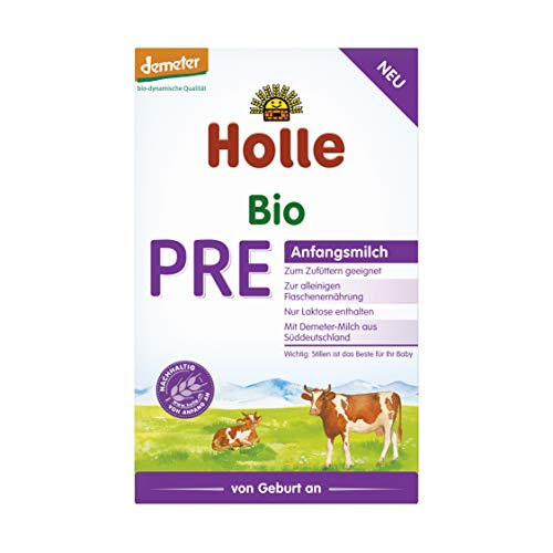 Holle Bio PRE-Anfangsmilch 400 g (6 x 400g)