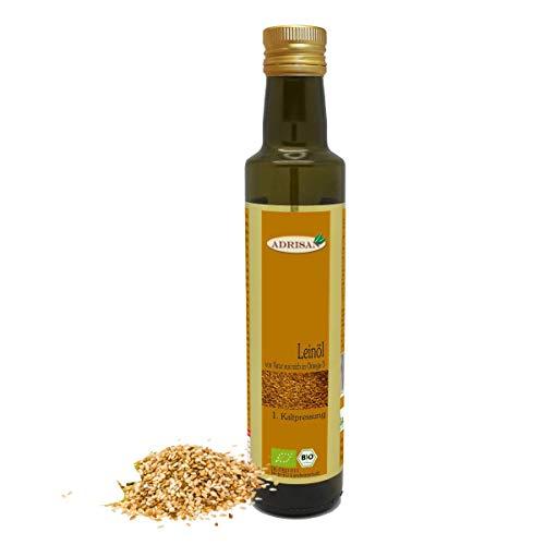Adrisan Leinöl 1. Kaltpressung bio*, 250 ml