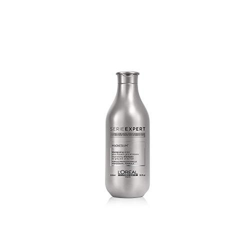 L\'Oréal Professionnel Serie Expert Silver Shampoo, Neutralisiert Gelbstich, verleiht grauem und weißem Haar Glanz, 1er Pack (1 x 300 ml)