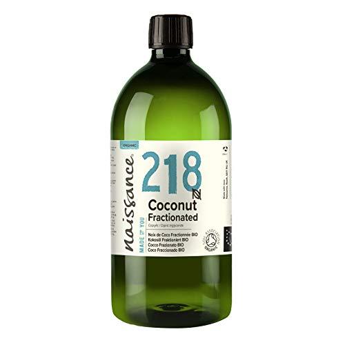 Naissance Kokosöl, fraktioniert 1 liter (1000ml) BIO zertifiziert 100{6bb0c9c34de9485c6a135f088c66ef2a7438e1921484a40bc91e674b36fc7735} rein