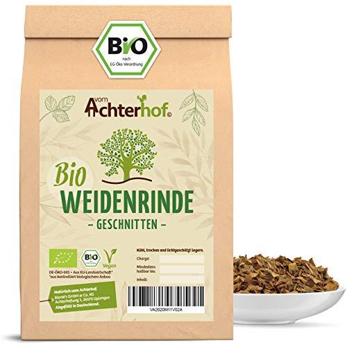 Weidenrinde BIO (500g) geschnitten getrocknet Bio-Weidenrindentee vom-Achterhof