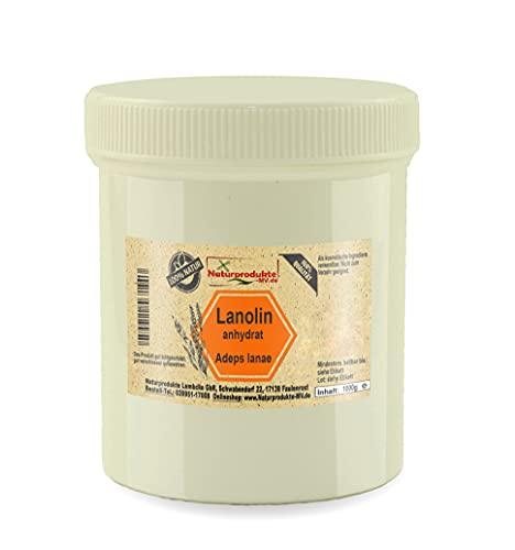 Lanolin anhydrat (1000g) Wollwachs Wollfett Salbengrundlage 1kg