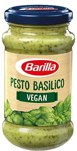 Barilla grünes Pesto Basilico vegan - Pesto 8er Pack (8x195g)