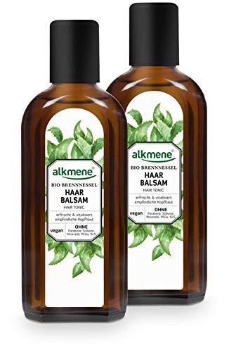 alkmene Haarbalsam mit Bio Brennnessel und Provitamin B5, für empfindliche Kopfhaut und feines Haar, 250 ml - 2er Pack (2 x 250 ml)
