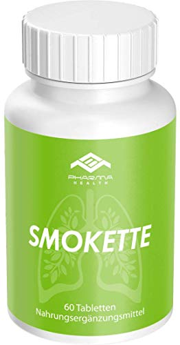 Endlich Nichtraucher | Mit dem Rauchen aufhören | Rezeptfrei | 100{4ee2ff4c33aca5aa7a7fef945c9a8c593413ccd6f2c54720ed96321bb0fa2c55} natürlich | Smokette