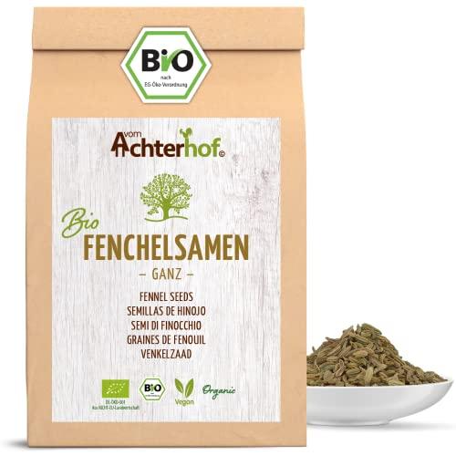 Fenchelsamen BIO süß ganz (250g)   Fenchel Samen   Fencheltee   als Gewürz oder Fenchel Anis Kümmel Tee
