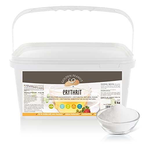 Erythritol Eryhrit Zucker Ersatz 5 kg Kalorienfrei Sweetener Sugar substitute