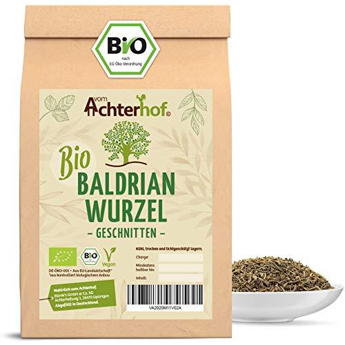 Baldrianwurzel BIO (100g) | Baldrian Wurzel getrocknet | Baldriantee | organic Valerian Root Cut vom Achterhof