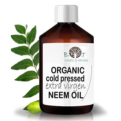 B.O.T Cosmetic & Wellness garden Neem Öl kalt gepresst unraffiniert 100{b53adaecc61be7896f3ae8e3a208219863827bb6e49bb89802618e4984d74484} rein (100 ml)