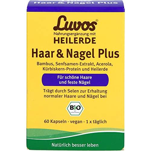 Luvos Heilerde Bio Haar & Nagel Plus Kapseln, 60 St