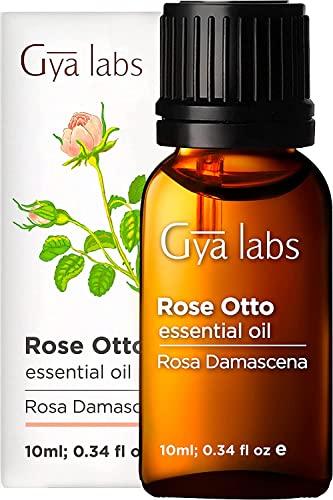 Rose Otto ätherisches Öl - 100{086bef3d3a8a7d81a1179579aa08a2e09cbb2f1ae2f55d14b469760189ce6b6f} Pure Therapeutic Grade für Haar, Haut, Gesicht, Akne, Nagelhaut, Bad, Entspannung, Diffusor - 10 ml